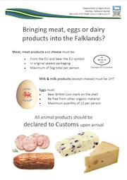 General: Meat, Eggs, Dairy Imports