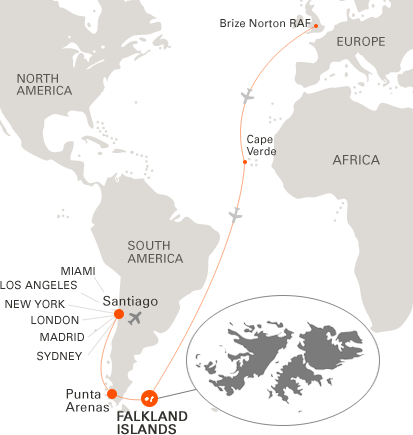 Where Is Christmas Island On A Map.Visit The Falkland Islands Falklands