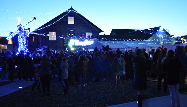Christmas at the Historic Museum Dockyard - Falkland Islands
