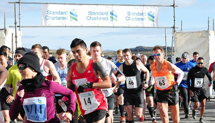 Stanley Marathon - Falkland Islands