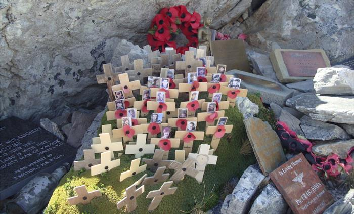 Mount Longdon Memorial - Things to Do in the Falkland Islands