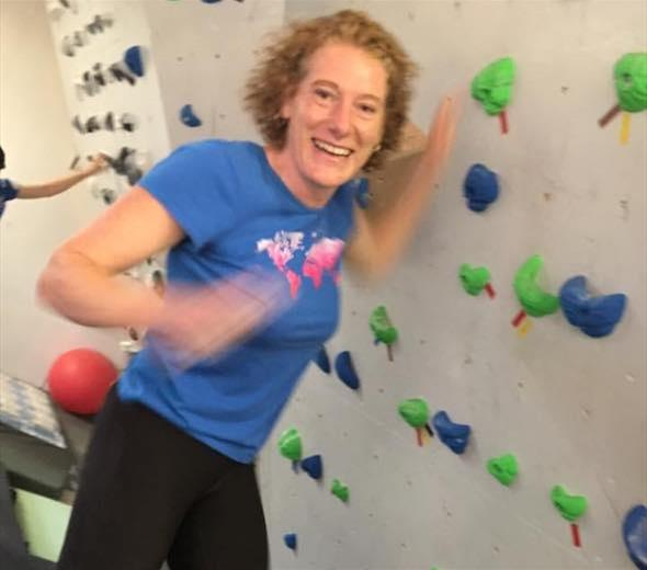 | Sally Ellis - Passionate about running and climbing!