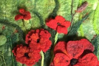 Falklands Craft Exhibition - poppies