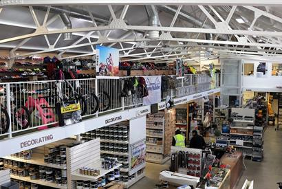 Falkland Islands Company - Crozier Place - Home Builder also stocks a fantastic range of outdoor pursuit's equipment such as fishing, shooting, campin