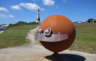 Solar System Sculpture Walk