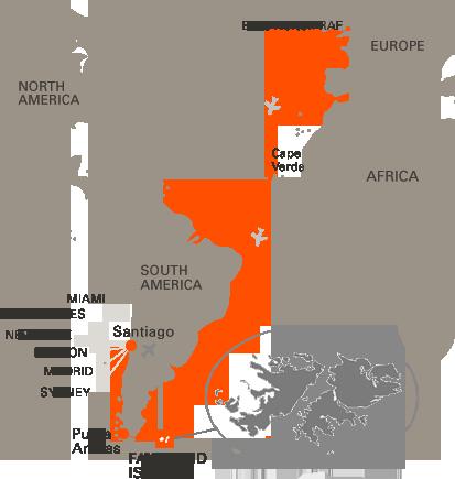 Visit The Falkland Islands Falklands - Falkland islands map